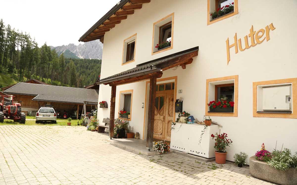 Huterhof, Appartamenti Zacher - Vacanze a San Candido, Alta Pusteria ...